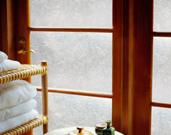 Decorative Window Film in Rice Paper modern-window-treatments