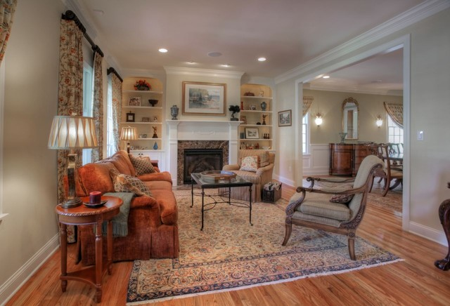 Autumn Tan traditional-living-room