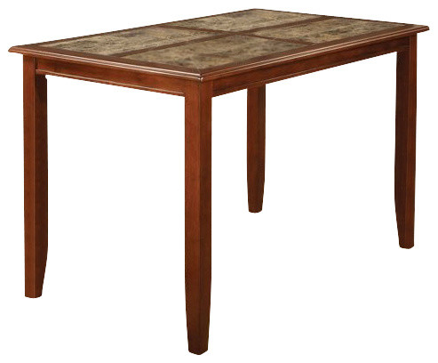 Counter Height Table (Rich Cherry) By Coaster modern-dining-tables