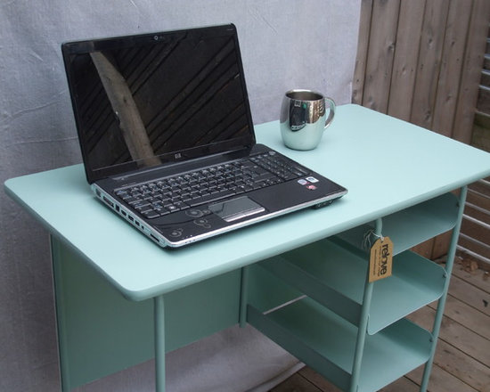 upcycled vintage desk -