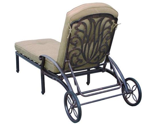Darlee - Darlee Elisabeth Patio Chaise Lounge - Description: