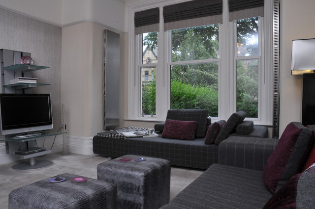 Period property in Manchester contemporary-living-room