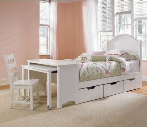 lea industries lea haley panel desk bedroom collection