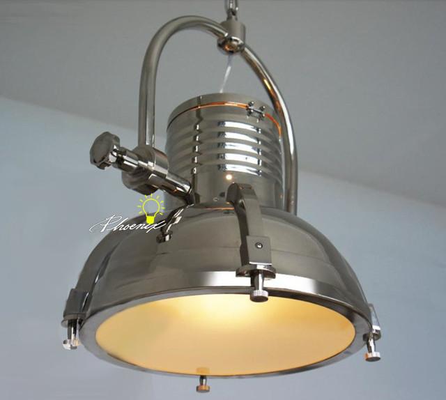 LOFT Industrial Chrome Pendant Lighting