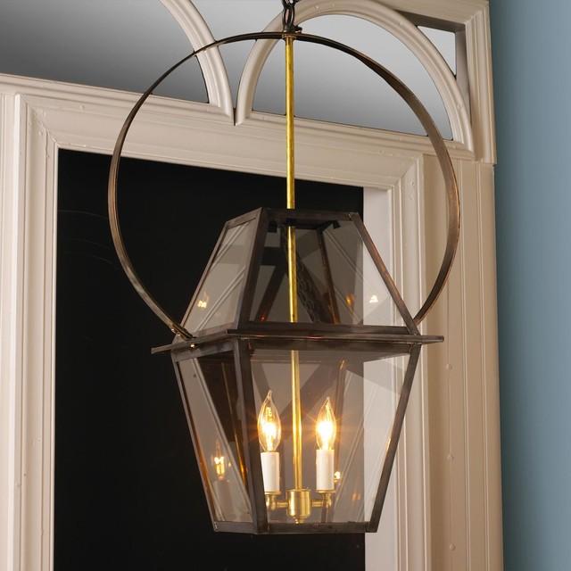 Richmond Hanging Lantern With Circle Bracket