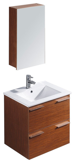 24 in. Ophelia Single Bathroom Vanity with Medicine ...