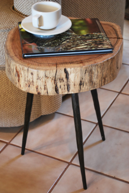 Terra Stool eclectic-side-tables-and-end-tables