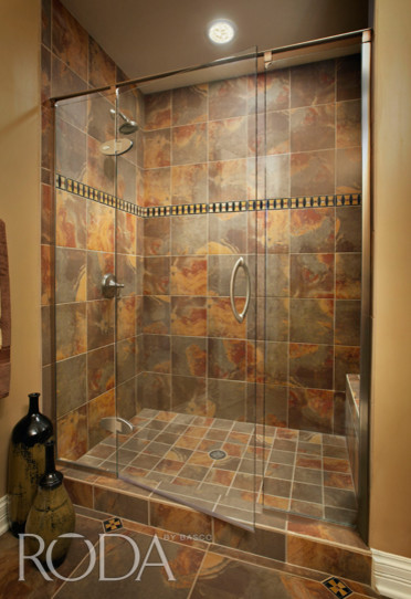 Bathroom designs roda shower enclosures by basco modern shower stalls and kits Bathroom remodeling ideas shower stalls