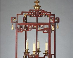 Shanghai Lantern - SALE - LAST ONE asian pendant lighting
