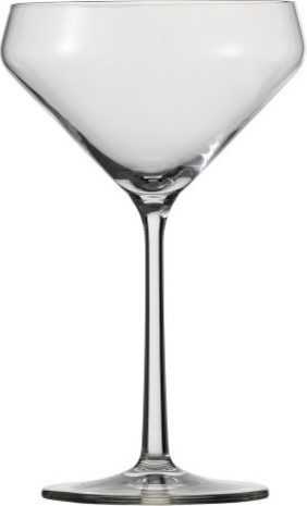 Schott Zwiesel Tritan Pure Martini Glasses - Set of 6 modern-wine-and-bar-tools