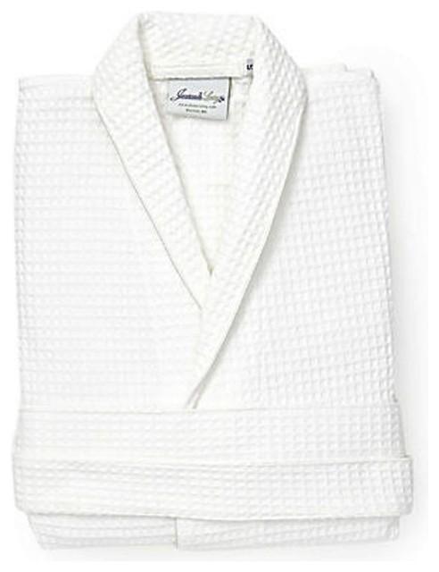 Waffle Weave Bathrobe bathrobes