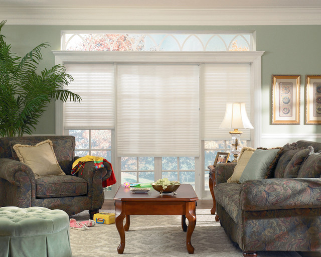Brilliance® pleated shades with Cordlock traditional-cellular-shades