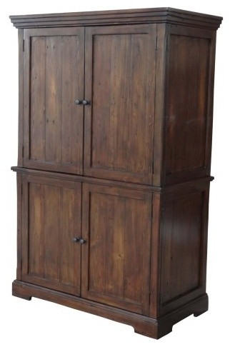 Lifestyle Home Office Cabinet - Jamaican Sunset traditional-storage-cabinets