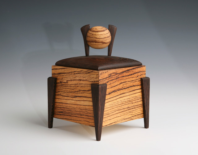 wood jewelry box / urn - Contemporary - Jewelry Boxes And Organizers - los angeles - by Wooden ...