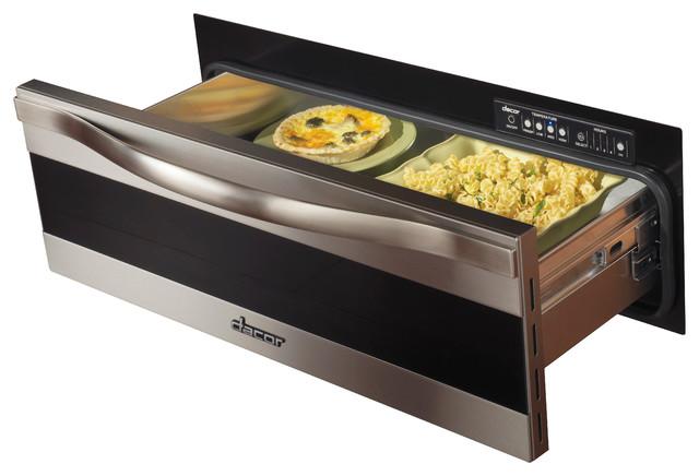 "Dacor Renaissance 30"" Warming Drawer, Stainless Trim W/ Black Glass | MWDH30S warming-drawers"