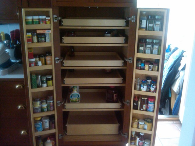 Cabinet Pantry Pull Out Shelves - Pantry Cabinets - boston - by ShelfGenie of Massachusetts