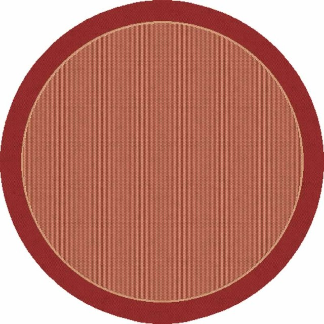 "Dynamic Rugs Piazza 4463-3707 5'3"" x 7'7"" Red Rug contemporary-rugs"
