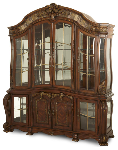Oppulente China Cabinet - Traditional - Storage Cabinets - by Carolina Rustica