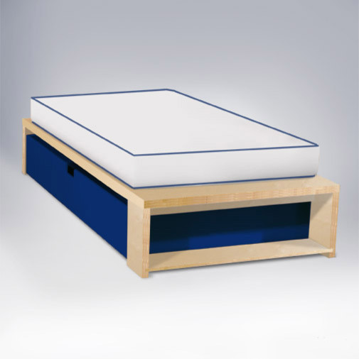 ducduc - alex Trundle Twin Bed - Modern - Kids Beds - by 2Modern