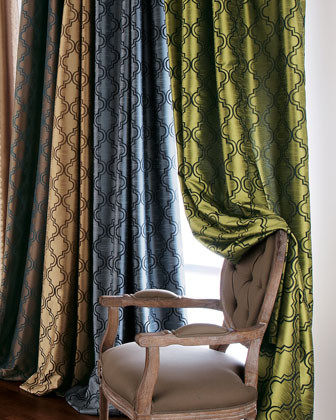 SOFTLINE HOME FASHIONS Each 108L Curtain traditional-curtains