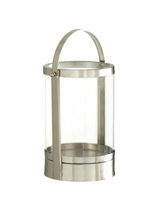 Home Accents - Canal Street Stainless Steel Candle Lantern, Signature Hardware