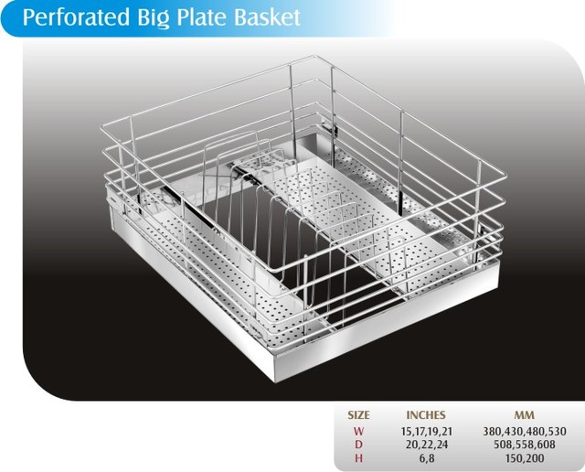 PERFORATED BIG PLATE BASKET modern-kitchen