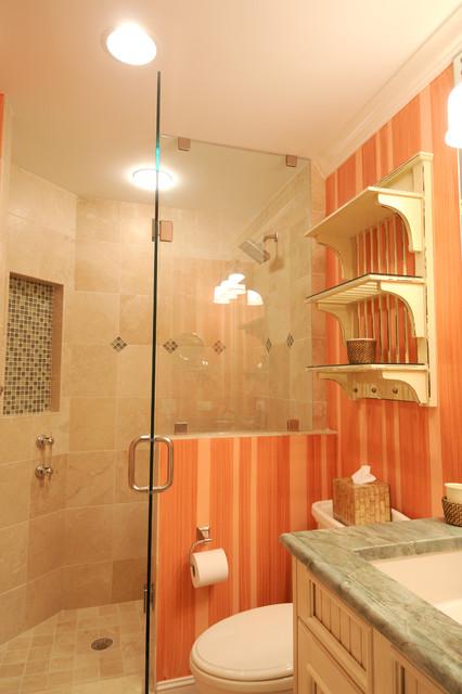 Beachfront Guest Room eclectic-bathroom