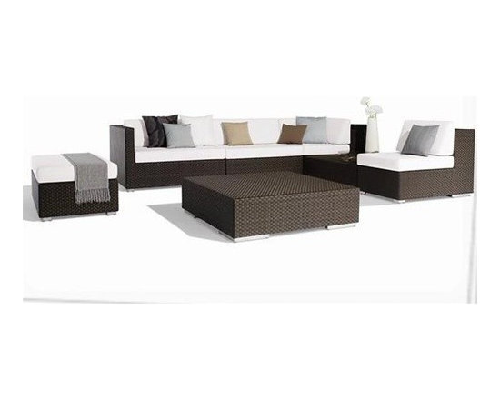 Cassi 7-Pieced Patio Sectional - $1,999.99 - Cassi 7-Pieced Patio Sectional
