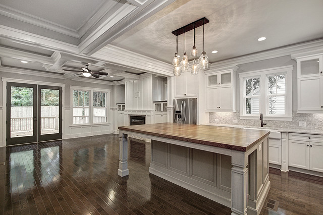 Custom built new construction home by carolina craftsman for Craftsman home builders charlotte nc