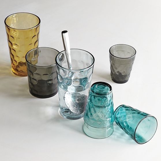 Dimpled Drinkware modern-everyday-glasses