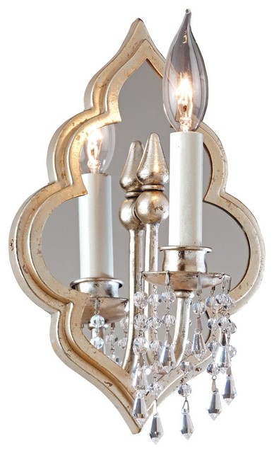 Moroccan Jewel Wall Sconce 2 Light - Wall Sconces - by Shades of Light