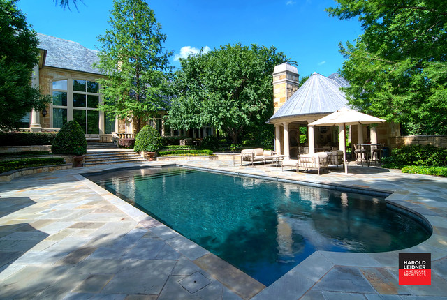 Private Residence - Luxury Estate Property traditional-pool