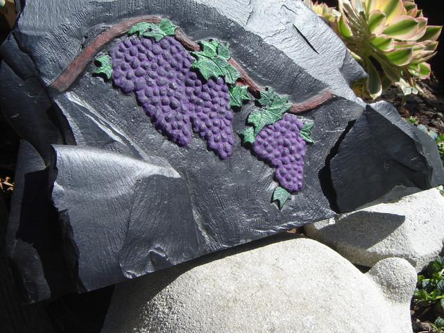 Grapes eclectic-artwork