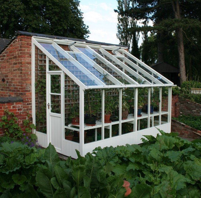 Wooden Greenhouse Traditional Greenhouses Other Metro on sunroom kits