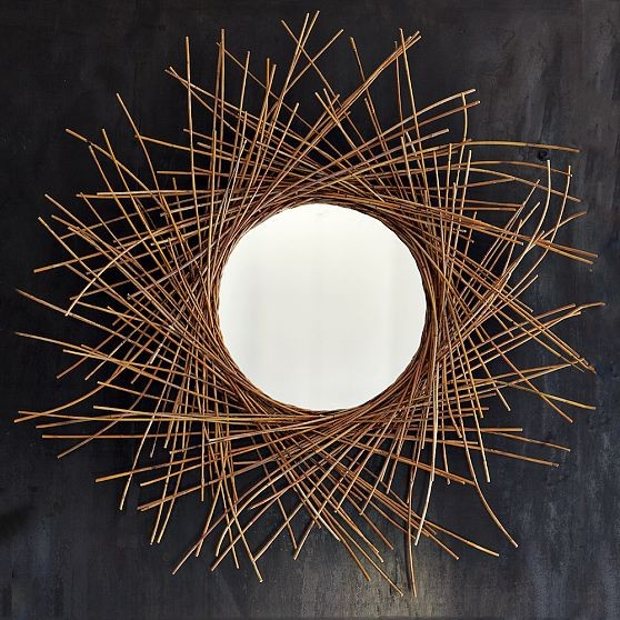 Twig Mirror contemporary-wall-mirrors
