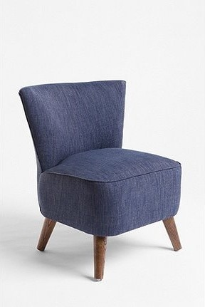 Chapman Chair, Tweed contemporary-living-room-chairs