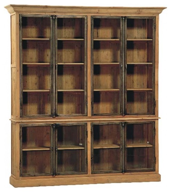 Portebello 8 Door Vitrine traditional storage units and cabinets