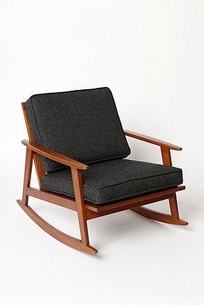 Mid Century Rocker Chair Modern Rocking Chairs By Urban Outfitters