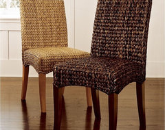 Sea Grass Chair eclectic-dining-chairs