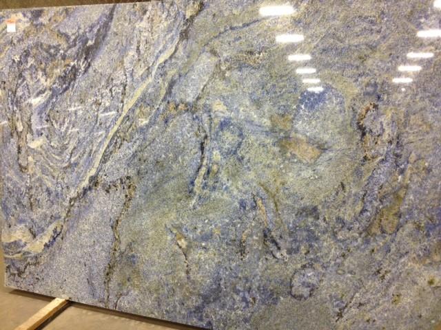 Blue Bahia Granite Slab Home Design Inspirations