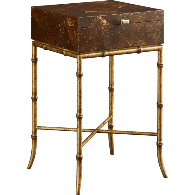 Fine Furniture Design Coconut Shell Box Stand eclectic-armchairs-and-accent-chairs