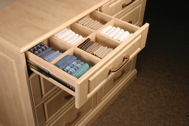 Drawer Dividers Contemporary Closet Storage Other