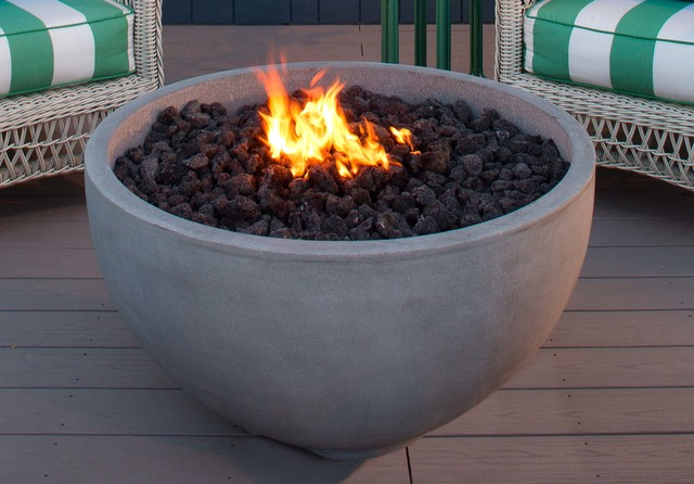 The infinite artisan fire bowl fire pits for Eldorado stone fire bowl