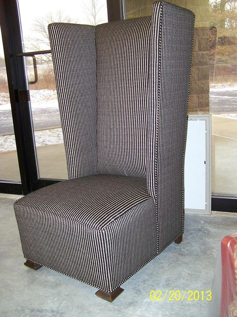 Custom Highback Wing Chair Back Chair