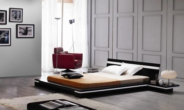 exclusive wood elite modern bedroom set asian bedroom