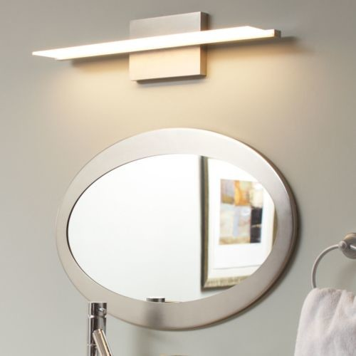 Span bath bar by tech lighting modern bathroom for Lighting over bathroom vanity