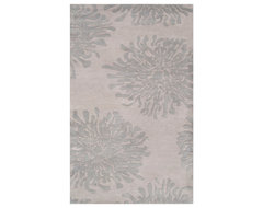 Surya Bombay BST-540 5' x 8' Gray, Blue Gray Rug contemporary-rugs