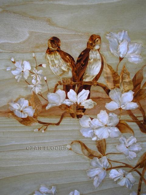 Marquetry Artwork Philadelphia By Czar Floors