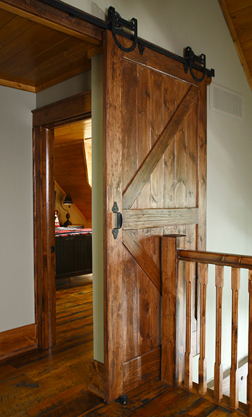Muskoka cottage at Oviinbyrd Golf Course traditional-interior-doors