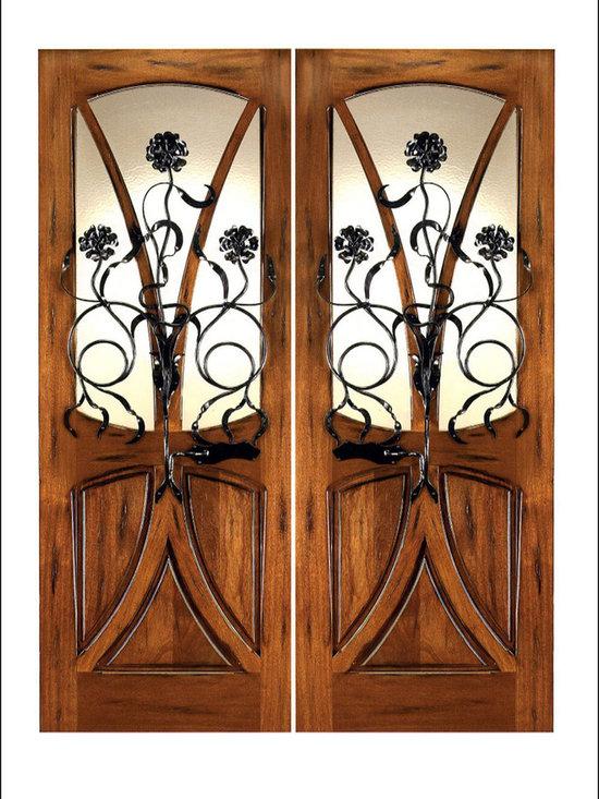 Art Nouveau Entry Doors Model # AN-2004 -